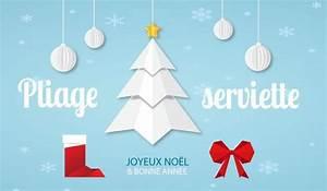Pliage Serviette En Papier Noel : pliage serviette papier no l diy en vid o la vie en mode ~ Farleysfitness.com Idées de Décoration