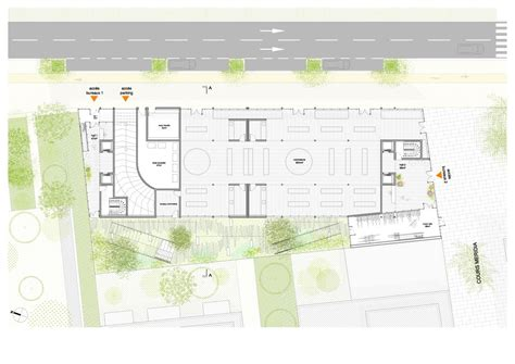 green plans gallery of nl a reveals plans for open concept green