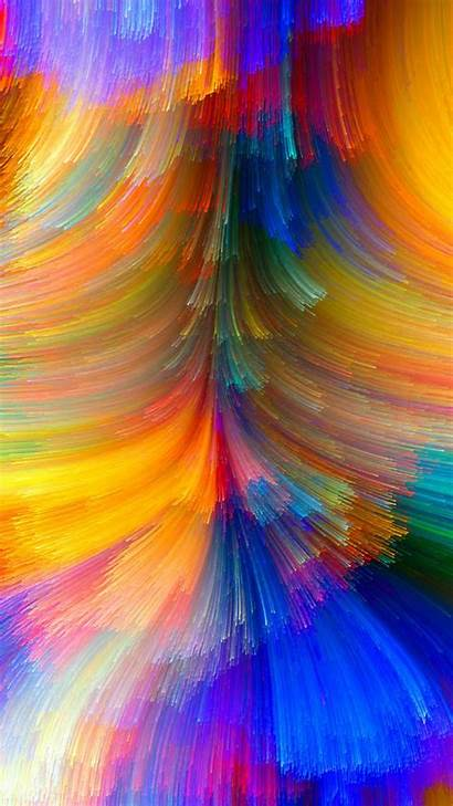 Colorful Abstract Bright Colors Wallpapers Desktop Colored