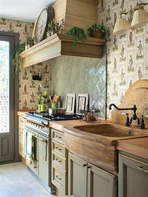 country kitchen sink ideas 44 reclaimed wood rustic countertop ideas decoholic