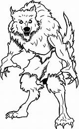Coloring Goosebumps Werewolf Printable Garou Monster Loup Wolf Adults Halloween Personnages Moon Template Books Coloringsun Coloriage Dessin Howling Sounds Colors sketch template