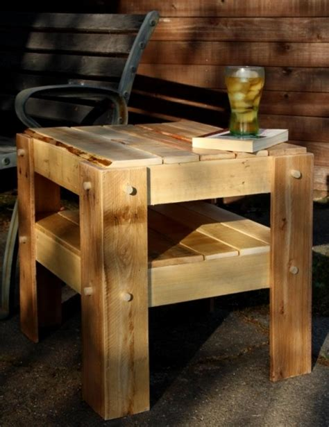 wood side table plans diy pallet side table plans pic 20 diy pallet coffee table