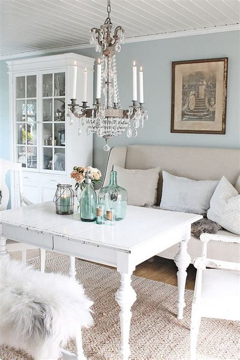 chic blue living room shabby chic dining room ideas awesome tables chairs and Rustic