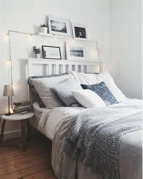 schlafzimmer ideen mit lichterketten grau gem 252 tliches schlafzimmer mit lichterkette dekoriert