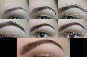 All About Eyebrows   On Trend  Flattering Eyebrows Tutorial