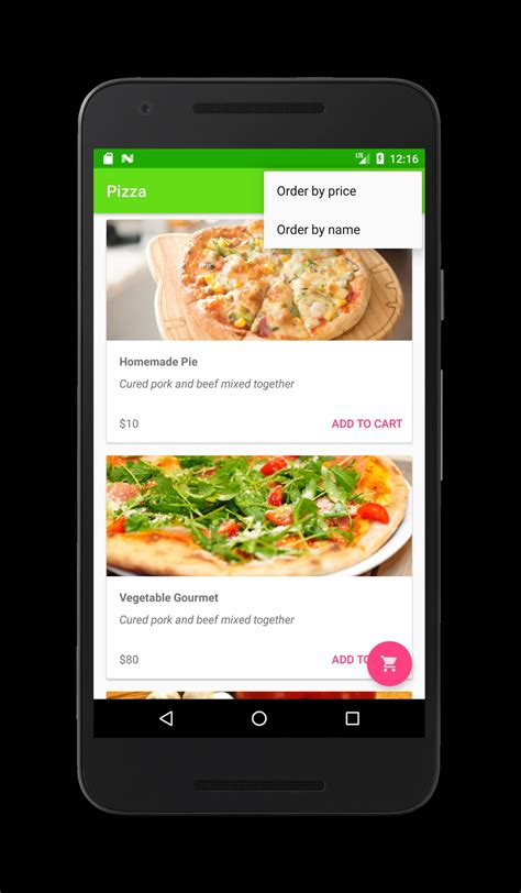 food delivery restaurant app android source code food