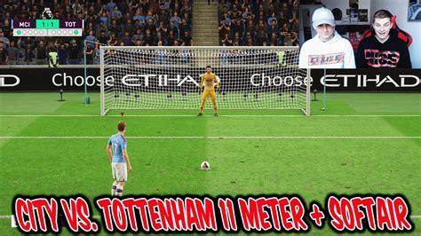 Kranke SOFTAIR Strafe in Man City vs. Tottenham 11 Meter ...