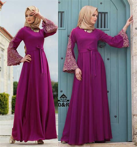 model baju muslim dan harganya model gamis terbaru setelan baju muslim wanita modern