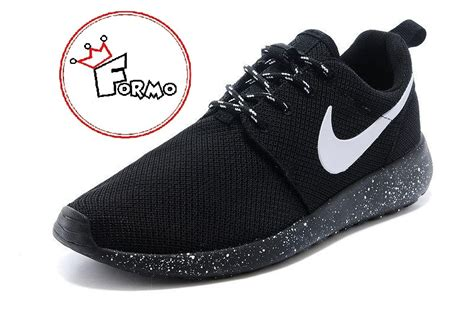Custom Nike Roshe Run Oreo Athletic Running Shoes White