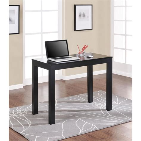mainstays parsons desk with drawer whitevan