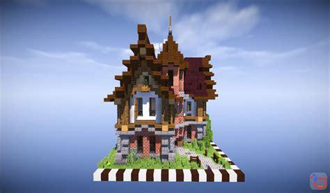 mediveal minecraft house timelapse speed build