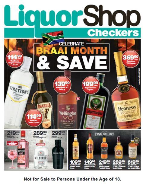 kzn checkers liquor deals  sep   oct