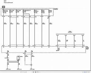 Chervolet Impala 2013 Body Control  U0026 Wiring Diagram En