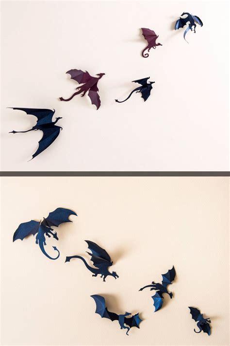 game  thrones inspired  dragon wall art dragon