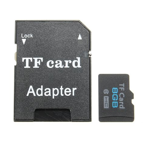 8gb Micro Sd Tf Secure Digital High Speed Flash Memory Card Class 6 With Adapter  Alex Nld