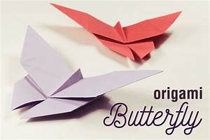 How to Make an Easy Origami Butterfly!