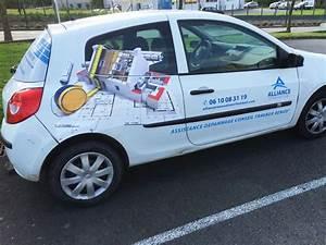 Garage Renault Laval : soci t id pub vitr 35 marquage sur voiture renault clio laval 53 ~ Gottalentnigeria.com Avis de Voitures
