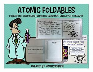 Atoms Atomic Structure Pwpt Foldable Interactive Notebook