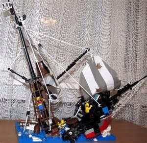 sinking ship a lego 174 creation by al x mocpages com