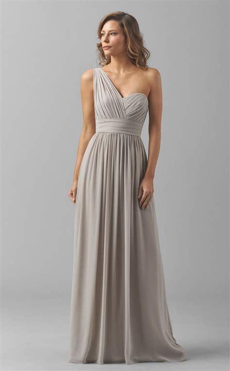 bridesmaid dress designers one shoulder bridesmaid dresses design ideas