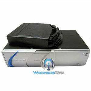 A1351 Audiobahn 6 Disc Cd Changer For A3751 A3451 Cd Car Stereo Player Unit New