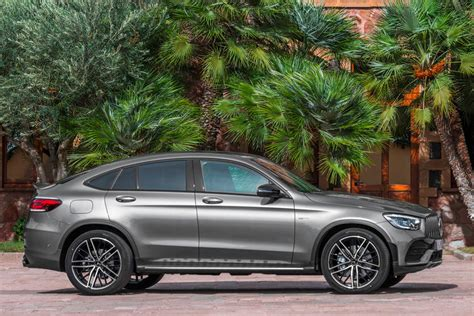The amg glc 43 infuses a benchmark suv with amg magic. 2021 Mercedes-AMG GLC 43 Coupe Exterior Photos   CarBuzz