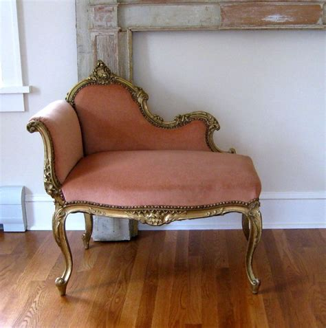 antique louis xv style settee c 1890 gilt bench