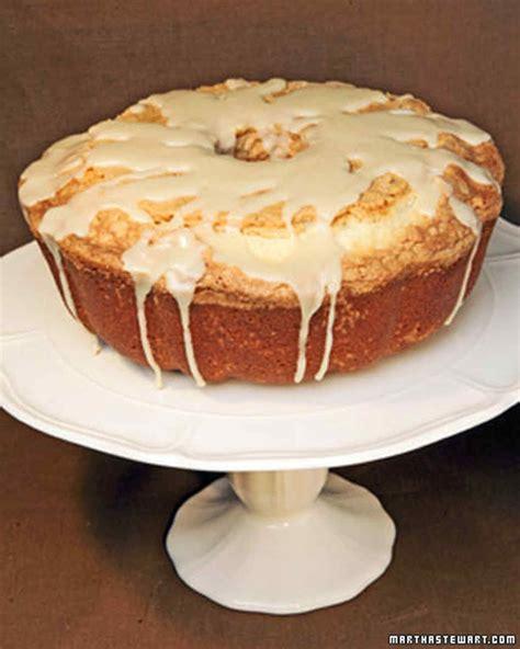 pound cake  maple glaze recipe dishmaps