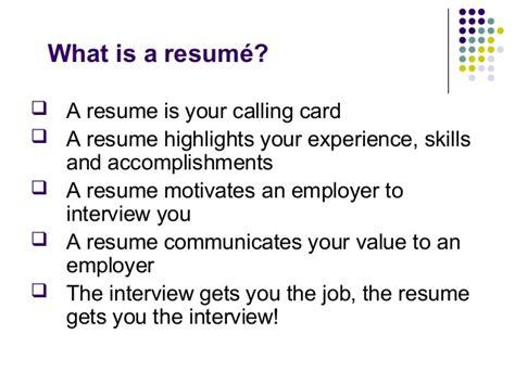 resume writing interpersonal skills