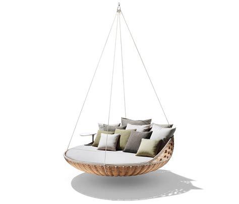 dedon swing swingrest hanging lounger swings from dedon architonic