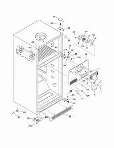 Door Refrigerator Parts & Frigidaire French Door ...
