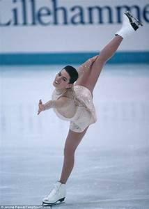 Skating legend: Nancy Kerrigan competed at the 1994 ...