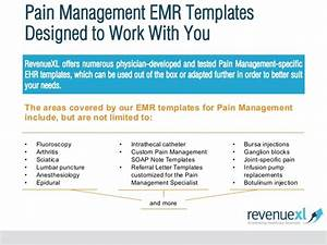 pain management emr software With pain management templates