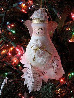 recycled light bulb angel ornament allfreeholidaycraftscom