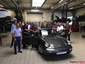 Alsace Auto Live : suivi de la restauration compl te du porsche 911 type 964 pour le concours national ~ Gottalentnigeria.com Avis de Voitures