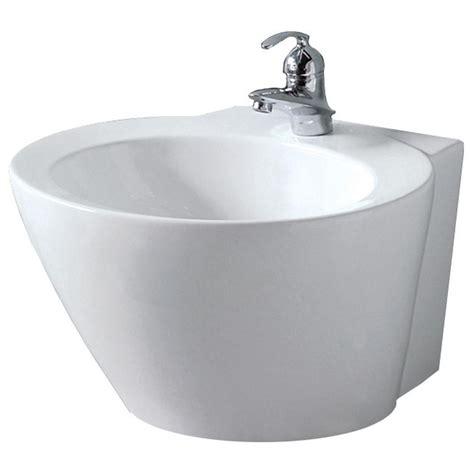 foremost luzern wall mount bathroom sink in white 08 0010