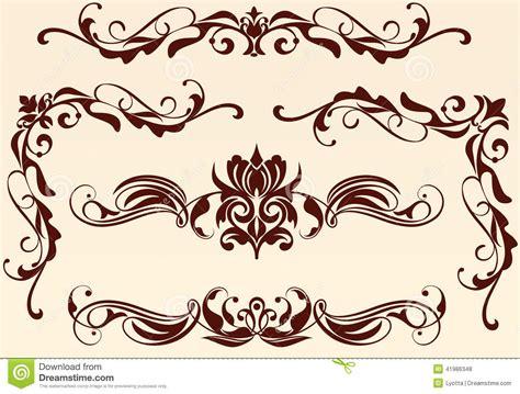 Art Nouveau Motifs And Lines