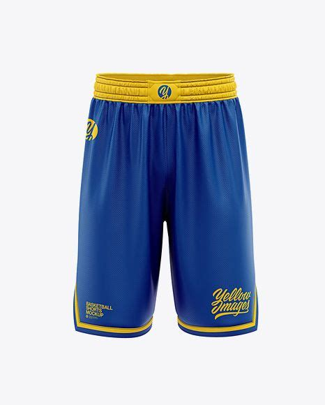 Great tutorial on how to create wrinkles or folds in football jerseys using photoshop. Men's Basketball Shorts Mockup - Front View in Apparel ...