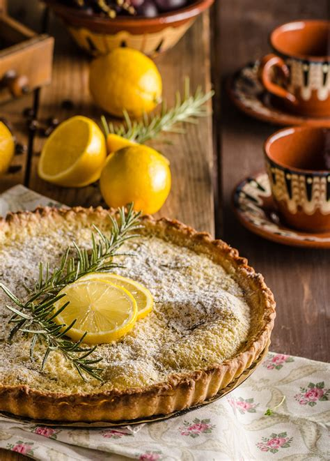 cirons cuisine recette tarte au citron mezcal et romarin