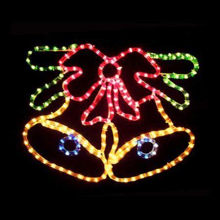 christmas bells  bow light display crazy sales
