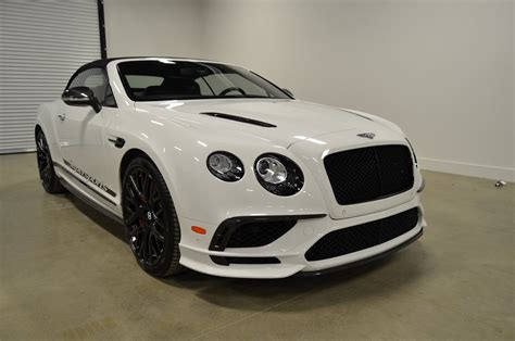 2018 Bentley Continental Supersports Convertible For Sale