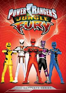 Sunrise Records Power Rangers Jungle Fury The Complete