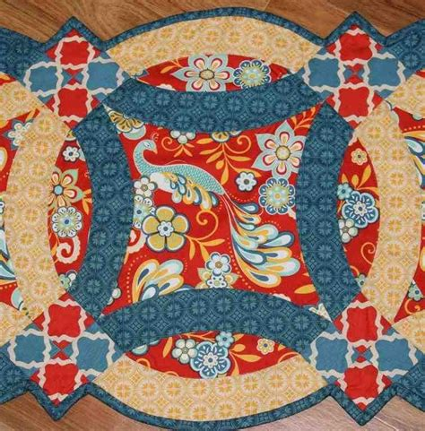 easy double wedding ring quilt pattern quilting