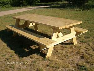 Picnic Table Plans---Easy to Build! eBay
