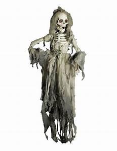 Halloween Deko Günstig Kaufen : skelettbraut halloween deko weiss grau 150cm skelett ~ Michelbontemps.com Haus und Dekorationen