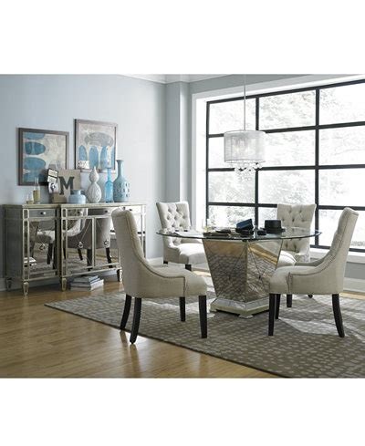 marais  dining room furniture collection mirrored