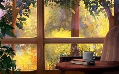 Window Mandy Kitchen Table Jurgens Background Garden