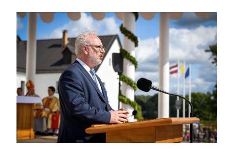 Valsts prezidenta Egila Levita uzruna Vissvētākās Jaunavas ...
