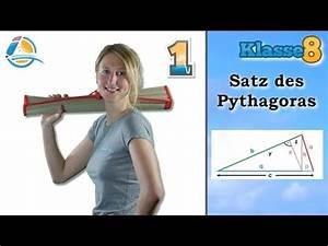 Kathetensatz Berechnen : msa 10 satz des pythagoras 1 grundlagen lernwerk tv ~ Themetempest.com Abrechnung