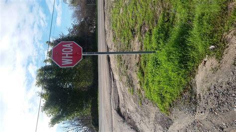 This Stop Sign That Says Whoa Mildlyinteresting